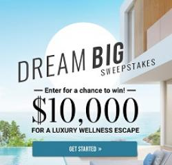 Cooking Light Dream Big Sweepstakes