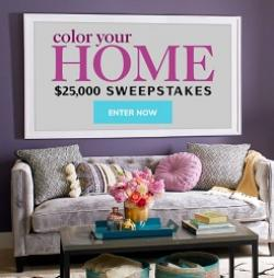 Color Your Home Sweepstakes