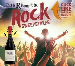 Riunite Moment to Rock Sweepstakes