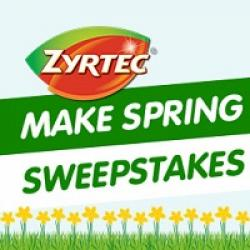Make Spring Count Sweepstakes