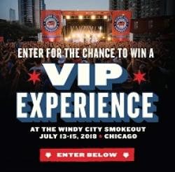 Windy City Smokeout Sweepstakes