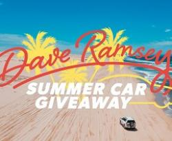 Dave Ramsey Summer Car Giveaway