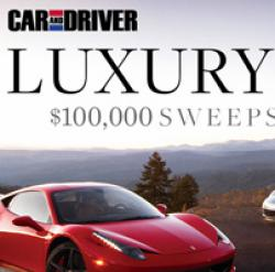 $100,000 Luxury Car Giveaway