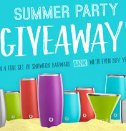 Snowfox Summer Party Giveaway