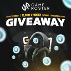 Game Roster Headset Sweepstakes