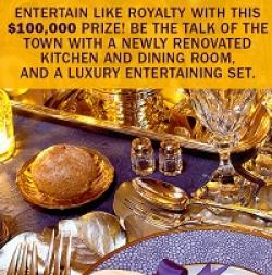 Entertain Like Royalty Sweepstakes
