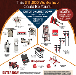 Workshop Makeover Giveaway