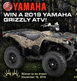 Buckmasters Grizzly ATV Giveaway