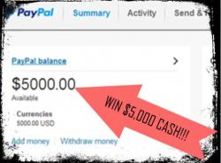 $5000 Cash Launch Party Giveaway