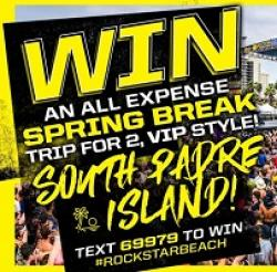Rockstar Energy Spring Break Sweeps