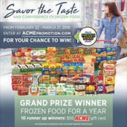 Acme Frozen Food Month Sweepstakes