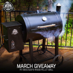 Pit Boss Wood Pellet Grill Giveaway
