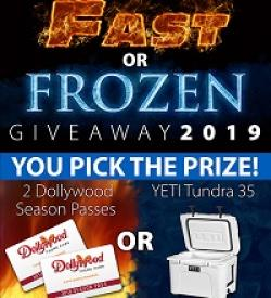 Fast or Frozen Giveaway