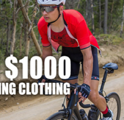 Pactimo $1,000 Cycling Sweepstakes