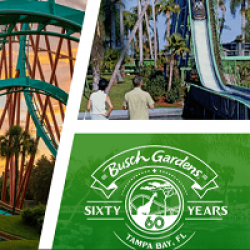Busch Gardens 60th Celebration Sweeps