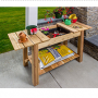 Win a Cedar Potting Bench Giveaway in online sweepstakes