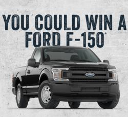Sheplers Win a Ford Truck Sweepstakes