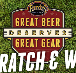Founder Great Beer Scratch & Win Game