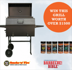Barbecue Bible May Sweepstakes