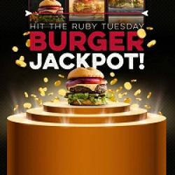 Ruby Tuesday Burger Jackpot Sweeps