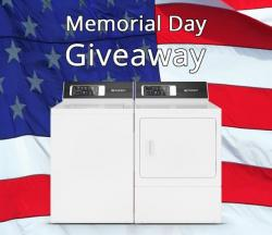 Washer & Dryer Memorial Day Giveaway