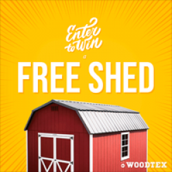 Woodtex Shed Sweepstakes