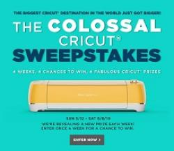 Michaels Colossal Cricut Sweepstakes