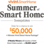 Win a HGTV Summer of Smart Home Sweeps in online sweepstakes