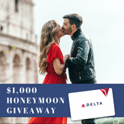 $1,000 Honeymoon Giveaway