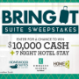 Win a HGTV Bring It Suite Sweepstakes in online sweepstakes