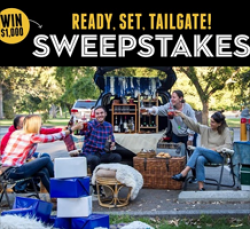 Ready, Set, Tailgate Sweepstakes