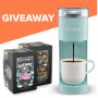 Win a Bones Coffee Keurig Mini Sweepstakes in online sweepstakes