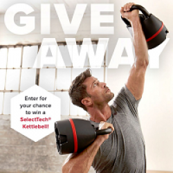 Bowflex 840 Kettlebell Sweepstakes prize ilustration