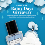 Win a Fragrance Net Rainy Days Giveaway in online sweepstakes
