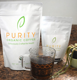 Purity Organic Coffee Sweepstakes prize ilustration