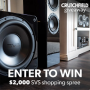 Win a Crutchfield SVS $2,000 Giveaway in online sweepstakes