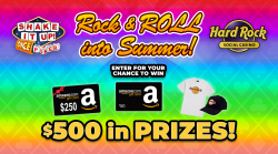 Rock and ROLL Into Summer Giveaway prize ilustration
