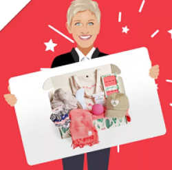 Ellen Subscription Box Sweepstakes prize ilustration