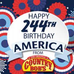 Happy Birthday America Sweepstakes prize ilustration
