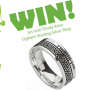 Win a Trinity Knot Ring Sweepstakes in online sweepstakes