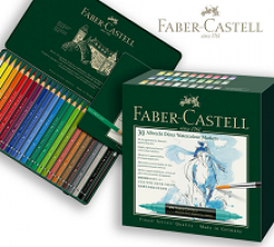 Faber-Castell Watercolor Month Sweeps prize ilustration