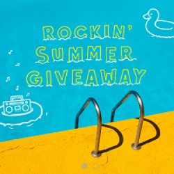 Rockin Summer Giveaway prize ilustration