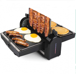 Bacon Griddle Press Sweepstakes prize ilustration