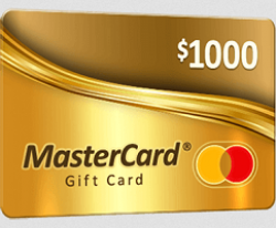 The Beat $1,000 Mastercard Sweeps prize ilustration