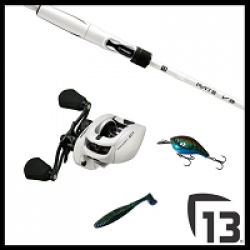 13 Fishing July Sweepstakes prize ilustration