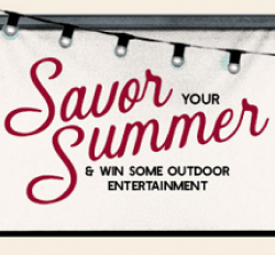 Savor Your Summer Sweepstakes prize ilustration
