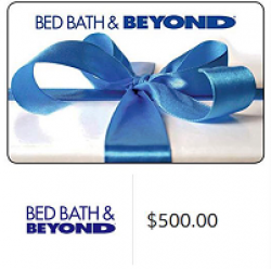 Kudosz Bed, Bath & Beyond Sweepstakes prize ilustration