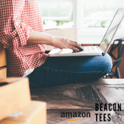 Beacon Tees $200 Amazon Sweepstakes prize ilustration