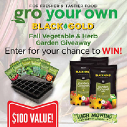 Fall Vegetable & Herb Garden Giveaway prize ilustration