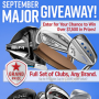 Win a 2nd Swing Golf September Giveaway in online sweepstakes